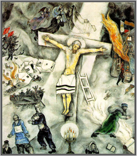 Quest for the Living God | Faith Matters Chagall White Crucifixion