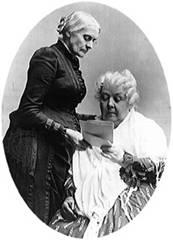 Elizabeth Cady Stanton Susan B Anthony