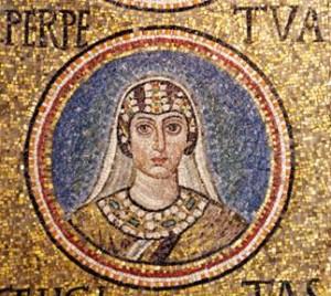 Perpetua mosaic Ravenna