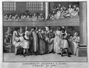 Quaker women preaching