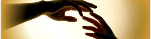 Jesus healing hands