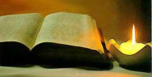 Bible candle2