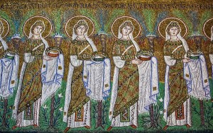 Ravenna Holy Virgins procession