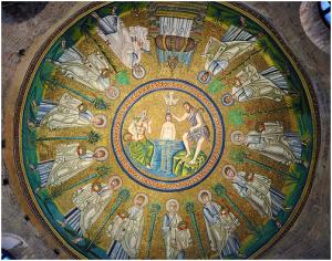 Ravenna baptistry dome