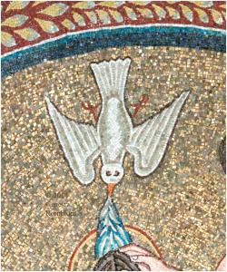 Ravenna baptistry dove