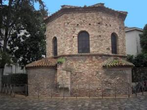 Ravenna baptistry exterior